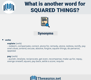 squared things, synonym squared things, another word for squared things, words like squared things, thesaurus squared things