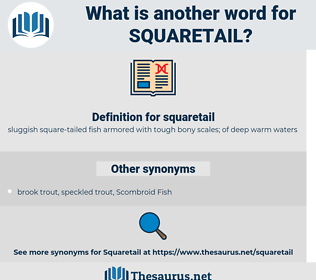 squaretail, synonym squaretail, another word for squaretail, words like squaretail, thesaurus squaretail