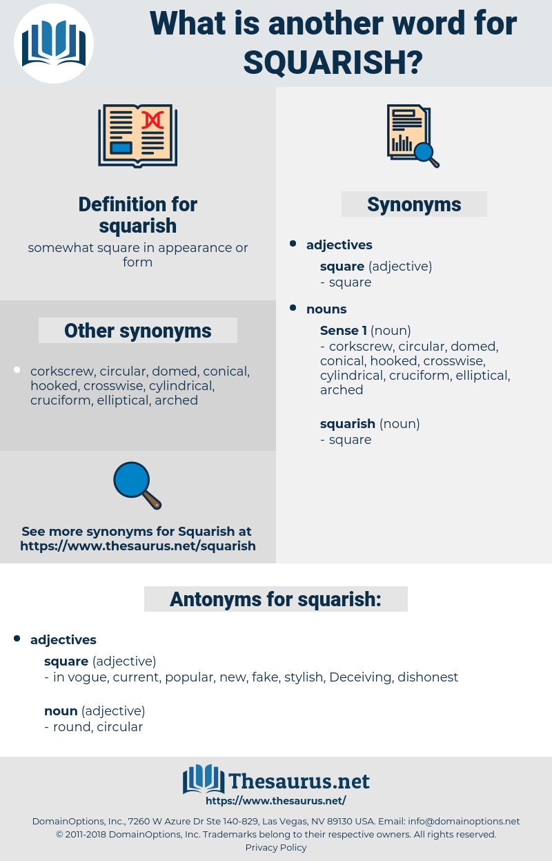 squarish, synonym squarish, another word for squarish, words like squarish, thesaurus squarish