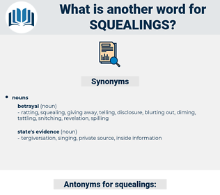 squealings, synonym squealings, another word for squealings, words like squealings, thesaurus squealings