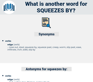 squeezes by, synonym squeezes by, another word for squeezes by, words like squeezes by, thesaurus squeezes by