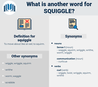 squiggle, synonym squiggle, another word for squiggle, words like squiggle, thesaurus squiggle