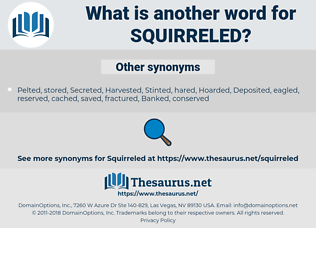 squirreled, synonym squirreled, another word for squirreled, words like squirreled, thesaurus squirreled