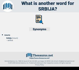 srbija, synonym srbija, another word for srbija, words like srbija, thesaurus srbija