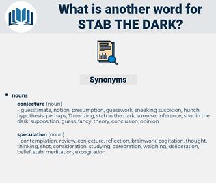 stab the dark, synonym stab the dark, another word for stab the dark, words like stab the dark, thesaurus stab the dark