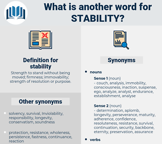 stability, synonym stability, another word for stability, words like stability, thesaurus stability