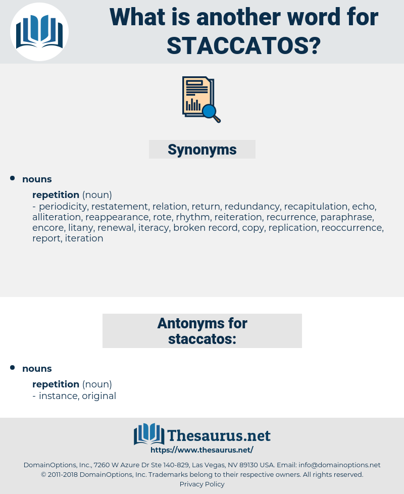 staccatos, synonym staccatos, another word for staccatos, words like staccatos, thesaurus staccatos
