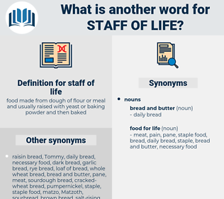 staff of life, synonym staff of life, another word for staff of life, words like staff of life, thesaurus staff of life