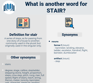 stair, synonym stair, another word for stair, words like stair, thesaurus stair