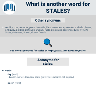 stales, synonym stales, another word for stales, words like stales, thesaurus stales