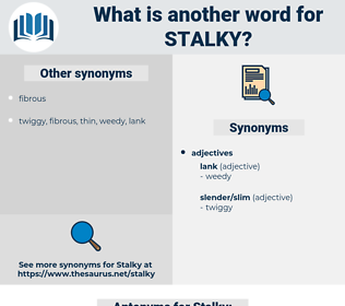 Stalky, synonym Stalky, another word for Stalky, words like Stalky, thesaurus Stalky