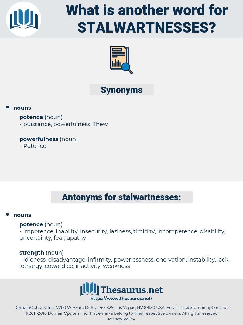 stalwartnesses, synonym stalwartnesses, another word for stalwartnesses, words like stalwartnesses, thesaurus stalwartnesses