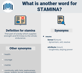 stamina, synonym stamina, another word for stamina, words like stamina, thesaurus stamina