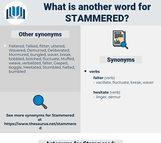 Stammered, synonym Stammered, another word for Stammered, words like Stammered, thesaurus Stammered