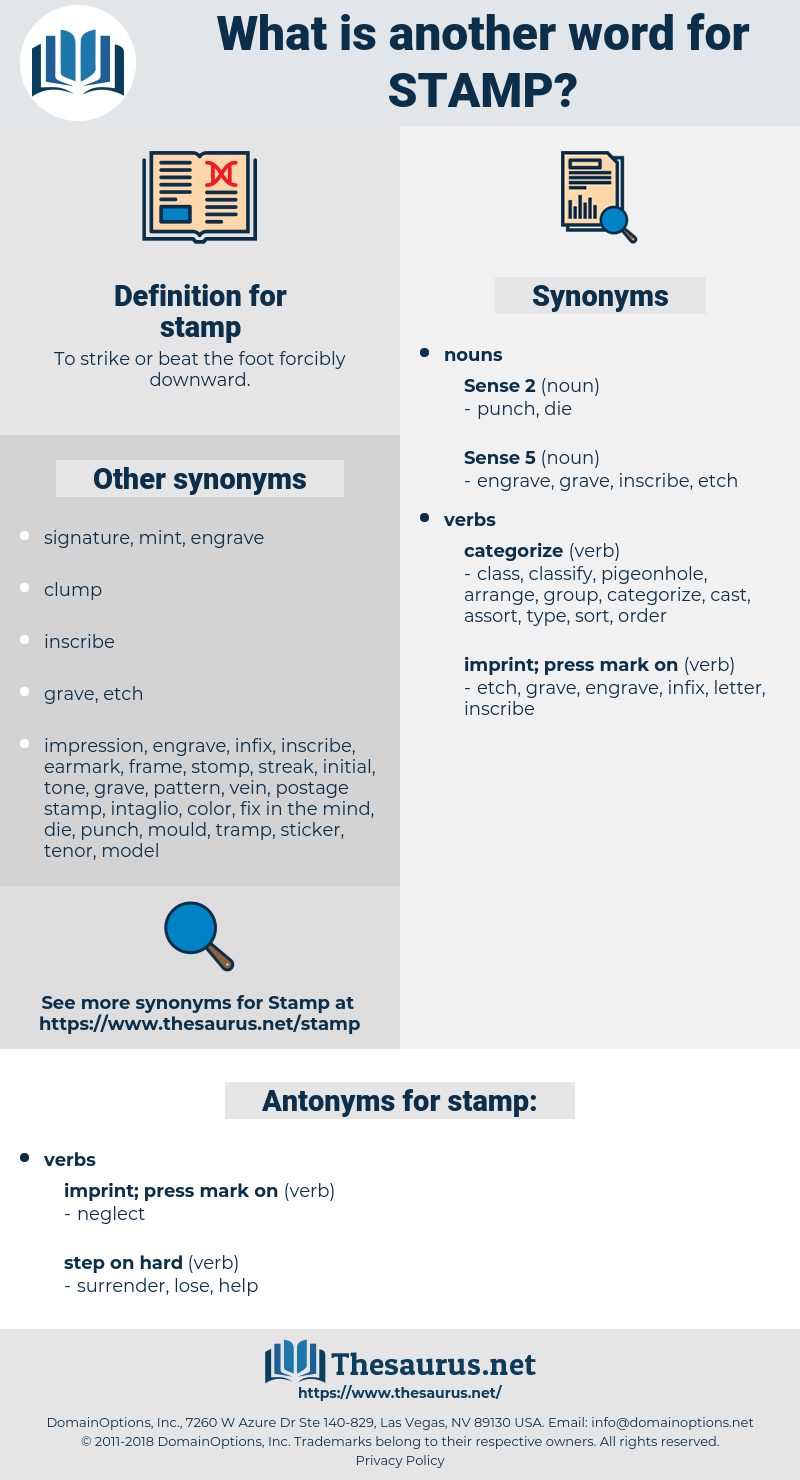Stamp Synonym Another Word For Words Like Thesaurus