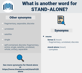 stand-alone, synonym stand-alone, another word for stand-alone, words like stand-alone, thesaurus stand-alone