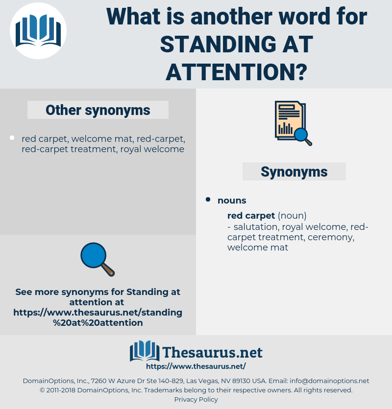 standing at attention, synonym standing at attention, another word for standing at attention, words like standing at attention, thesaurus standing at attention