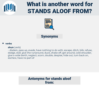 stands aloof from, synonym stands aloof from, another word for stands aloof from, words like stands aloof from, thesaurus stands aloof from