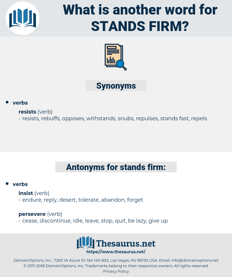 stands firm, synonym stands firm, another word for stands firm, words like stands firm, thesaurus stands firm