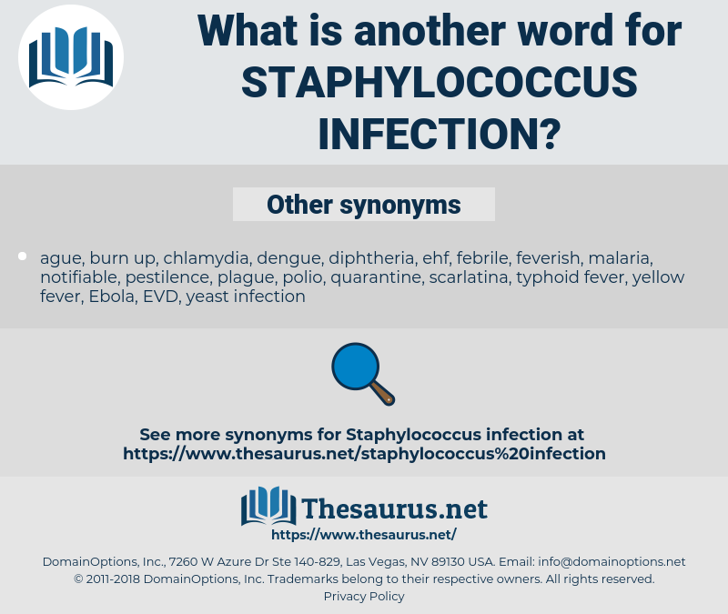 Staphylococcus infection, synonym Staphylococcus infection, another word for Staphylococcus infection, words like Staphylococcus infection, thesaurus Staphylococcus infection