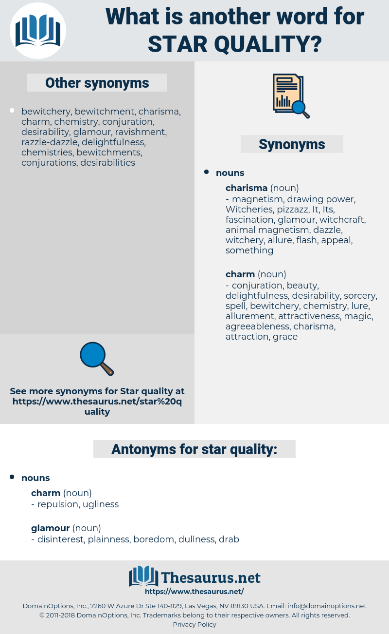 star quality, synonym star quality, another word for star quality, words like star quality, thesaurus star quality