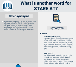 stare at, synonym stare at, another word for stare at, words like stare at, thesaurus stare at