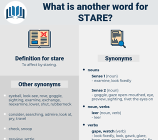 stare, synonym stare, another word for stare, words like stare, thesaurus stare