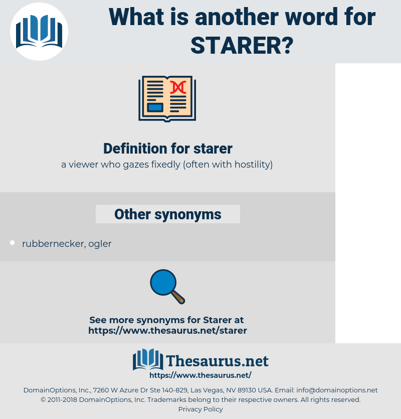 starer, synonym starer, another word for starer, words like starer, thesaurus starer