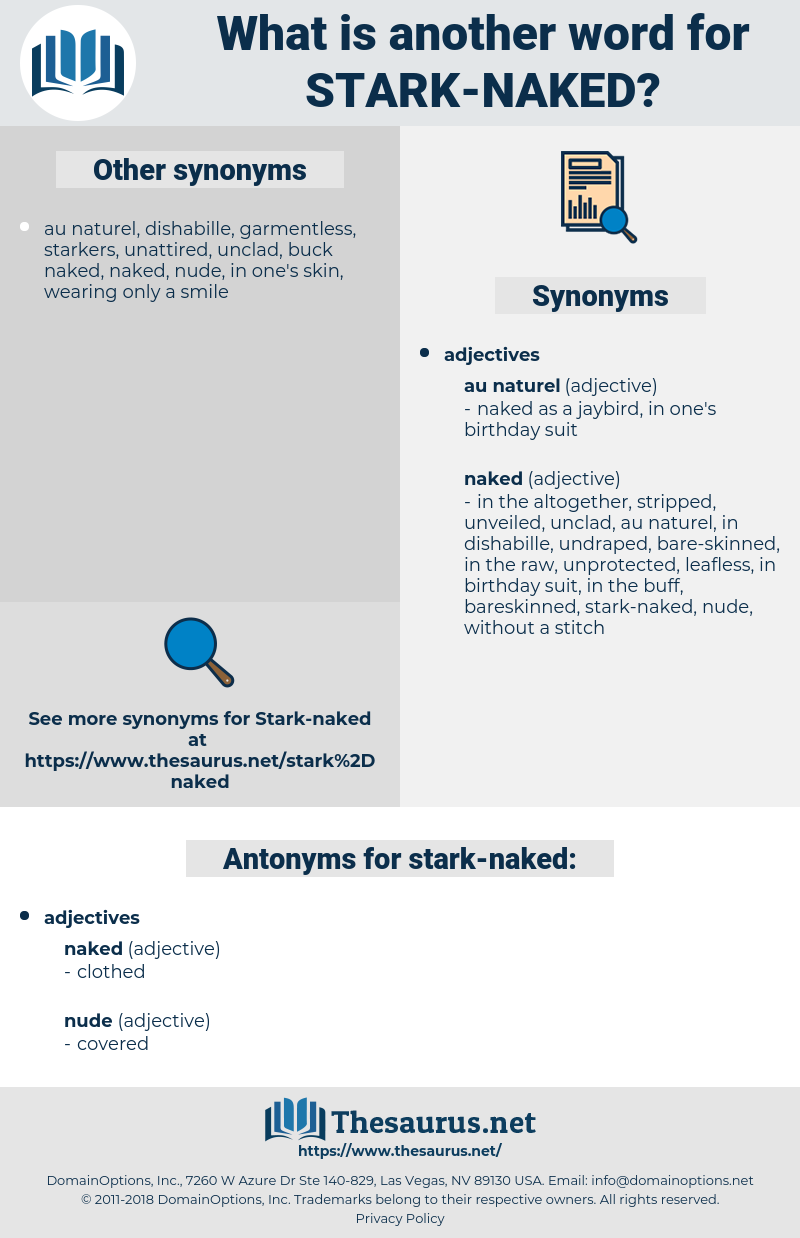 stark-naked, synonym stark-naked, another word for stark-naked, words like stark-naked, thesaurus stark-naked