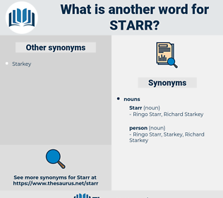 starr, synonym starr, another word for starr, words like starr, thesaurus starr