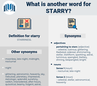 starry, synonym starry, another word for starry, words like starry, thesaurus starry