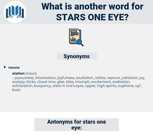 stars one eye, synonym stars one eye, another word for stars one eye, words like stars one eye, thesaurus stars one eye