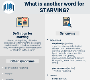 starving, synonym starving, another word for starving, words like starving, thesaurus starving