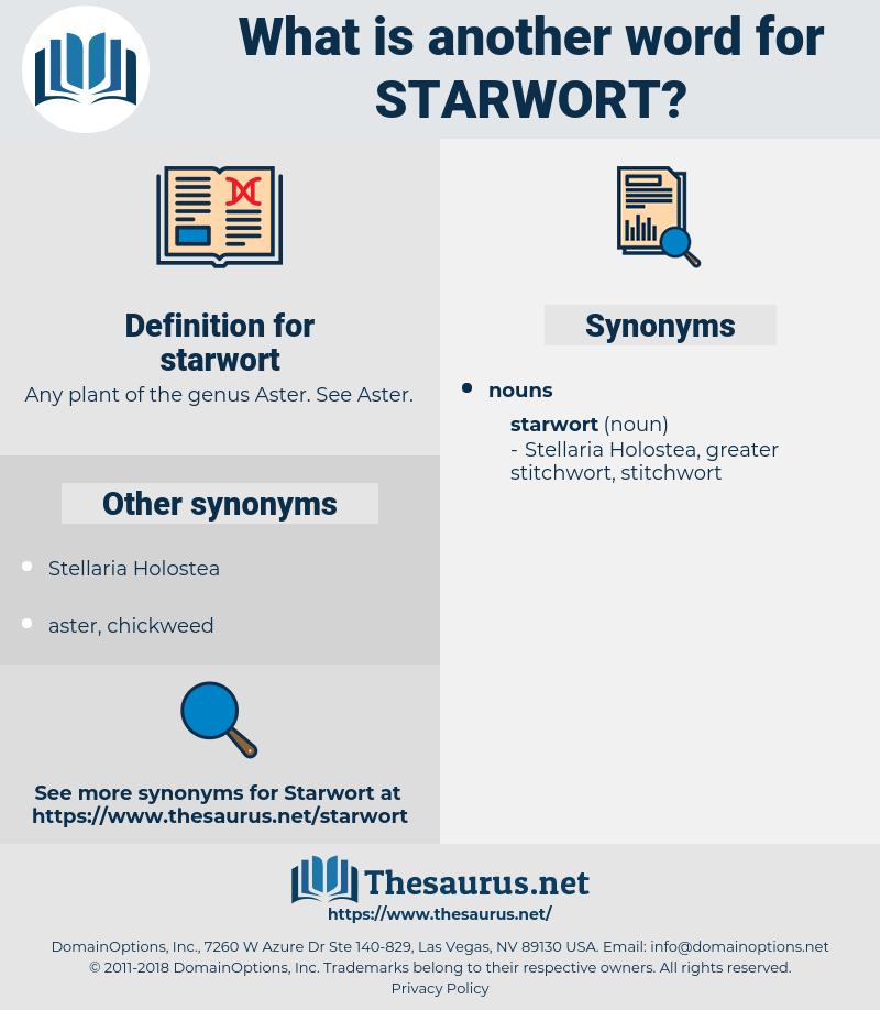 starwort, synonym starwort, another word for starwort, words like starwort, thesaurus starwort