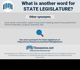 state legislature, synonym state legislature, another word for state legislature, words like state legislature, thesaurus state legislature