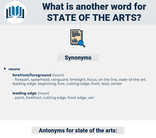 state-of-the-arts, synonym state-of-the-arts, another word for state-of-the-arts, words like state-of-the-arts, thesaurus state-of-the-arts