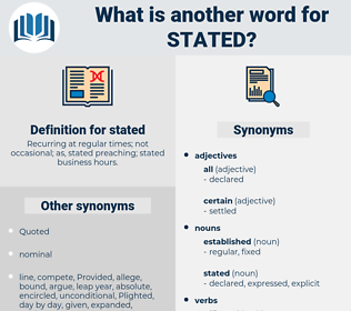 stated, synonym stated, another word for stated, words like stated, thesaurus stated