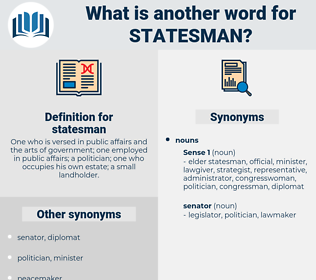 statesman, synonym statesman, another word for statesman, words like statesman, thesaurus statesman