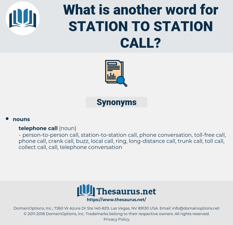 station-to-station call, synonym station-to-station call, another word for station-to-station call, words like station-to-station call, thesaurus station-to-station call