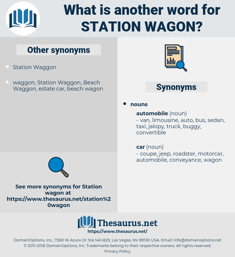station wagon, synonym station wagon, another word for station wagon, words like station wagon, thesaurus station wagon