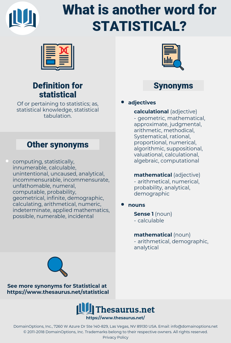 statistical, synonym statistical, another word for statistical, words like statistical, thesaurus statistical