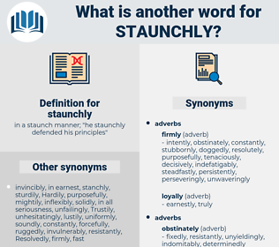 staunchly, synonym staunchly, another word for staunchly, words like staunchly, thesaurus staunchly