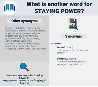 staying power, synonym staying power, another word for staying power, words like staying power, thesaurus staying power