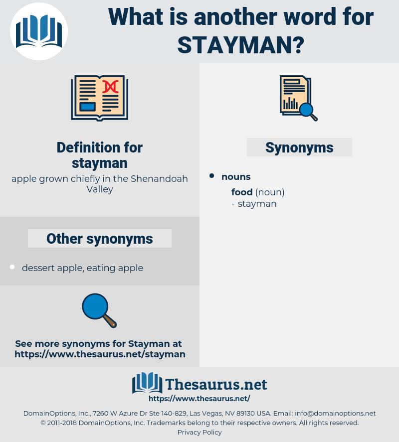 stayman, synonym stayman, another word for stayman, words like stayman, thesaurus stayman