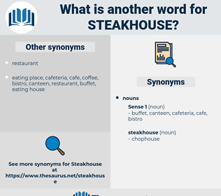 steakhouse, synonym steakhouse, another word for steakhouse, words like steakhouse, thesaurus steakhouse