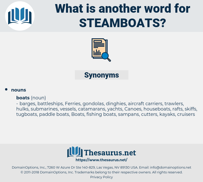 steamboats, synonym steamboats, another word for steamboats, words like steamboats, thesaurus steamboats
