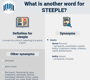 steeple, synonym steeple, another word for steeple, words like steeple, thesaurus steeple