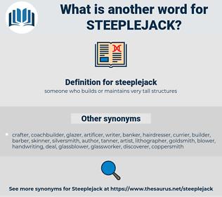 steeplejack, synonym steeplejack, another word for steeplejack, words like steeplejack, thesaurus steeplejack