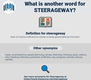 steerageway, synonym steerageway, another word for steerageway, words like steerageway, thesaurus steerageway