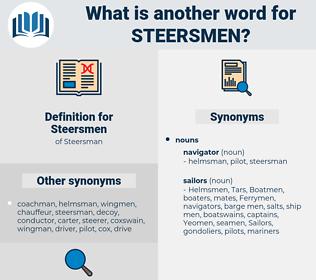 Steersmen, synonym Steersmen, another word for Steersmen, words like Steersmen, thesaurus Steersmen